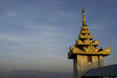 Mandalay Hill at Sunset Royalty Free Stock Image
