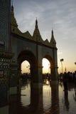 Mandalay Hill at Sunset Royalty Free Stock Photo
