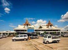 Mandalay internationell flygplats, Myanmar 1 Fotografering för Bildbyråer