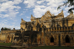 Mandalay Invar ancient Maha Ang Mei Temple Royalty Free Stock Photo