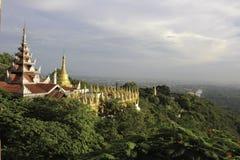 Mandalay kulle royaltyfria bilder