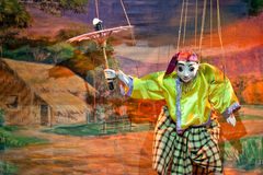 Mandalay Marionette Theatre Stock Photography