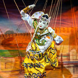 Mandalay Marionette Theatre Royalty Free Stock Photography