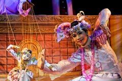 Mandalay Marionette Theatre Royalty Free Stock Photo