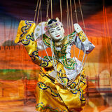 Mandalay-Marionetten-Theater Stockfoto