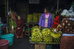 Mandalay market Stock Photos