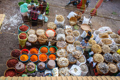 Mandalay market Stock Photo