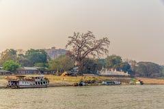 Mandalay - Mingun Stock Images