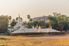 Mandalay - Mingun Royalty Free Stock Photos