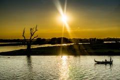 Mandalay Myanmar Royaltyfri Foto