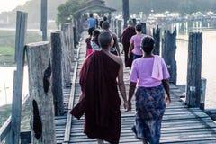 Mandalay, Myanmar fotografie stock libere da diritti