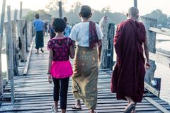 Mandalay, Myanmar immagine stock