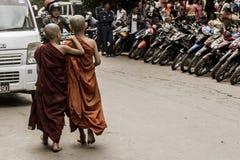 Mandalay, Myanmar stockfotografie