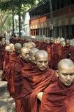 Mandalay, Myanmar - 14. Oktober: Stockfotos