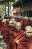 Mandalay, Myanmar - 14 ottobre: Fotografie Stock