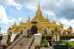 Mandalay Myanmar Arkivbild