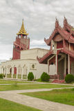 Mandalay Palace Obrazy Stock