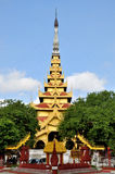 Mandalay Palace στοκ φωτογραφίες με δικαίωμα ελεύθερης χρήσης