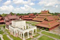 Mandalay Palace immagine stock libera da diritti