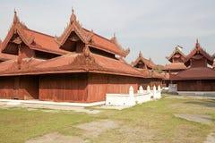 Mandalay Palace Fotografie Stock Libere da Diritti