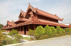 Mandalay Palace Stock Photography