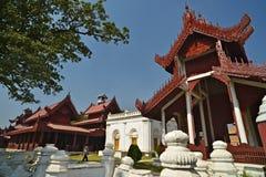 Mandalay Palace. Myanmar. The Mandalay Palace. Mandalay, Myanmar royalty free stock photos