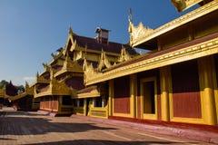 Mandalay Palace  , Mandalay in Myanmar (Burmar) Royalty Free Stock Photos