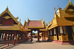 Mandalay Palace.Myanmar Fotos de archivo