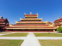 Mandalay Palace.Myanmar Stock Photos