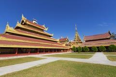 Mandalay Palace.Myanmar Stock Image