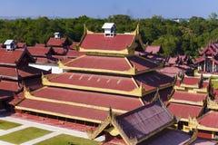 Mandalay Palace.Myanmar Royalty Free Stock Photos