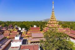 Mandalay Palace.Myanmar Royalty Free Stock Photography
