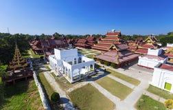 Mandalay Palace.Myanmar Stock Photo
