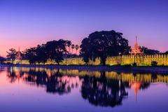 Mandalay Palace Royalty Free Stock Photography