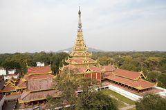Mandalay Palace Royalty Free Stock Photos