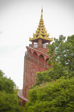 Mandalay Palace Stock Image