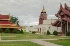 Mandalay Palace Royalty Free Stock Images