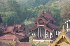 Mandalay-Palast Lizenzfreies Stockbild