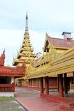 Mandalay Royal Palace, Mandalay, Myanmar Fotos de Stock Royalty Free