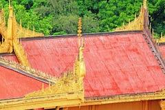 Mandalay Royal Palace, Mandalay, Myanmar Stock Photography