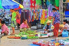 Mandalay Street Vendors, Myanmar Stock Photos