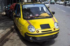 Mandalay taxi. Royaltyfria Bilder