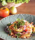 Mandalay tomat Saland Arkivbilder