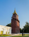 Mandalay watch tower Royalty Free Stock Images
