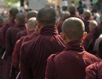 Myanmar Mandalay Yadana Hsemee pagoda Monastery stock photo