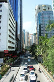 Mandaluyong City, Philippines, Sky scrapers Stock Photography