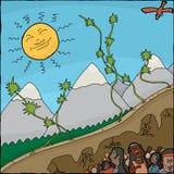 Mandan Creation Myth Stock Photos