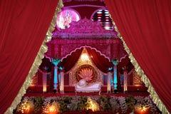 Mandap indien d'étape de mariage photos stock