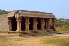Mandapa or Hall near Vitthala temple, Hampi , Karnataka Royalty Free Stock Images