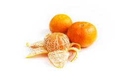 Mandarín anaranjado brillante Fotos de archivo libres de regalías